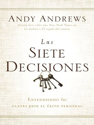 cover image of Las siete decisiones